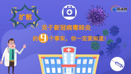 抗击疫情・动漫 | 关于新冠病毒肺炎的9个事实,你一定要知道!