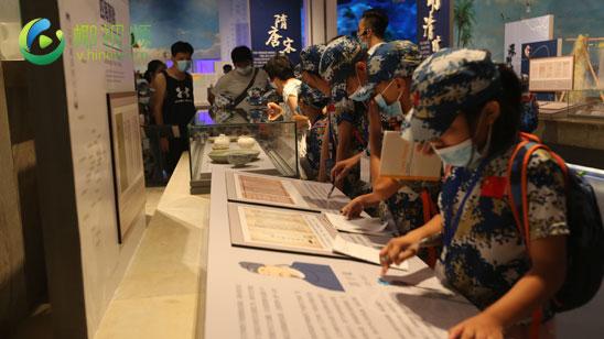椰视频 琼海留守(困境)儿童夏令营走进南海博物馆 感受文化遗产魅力