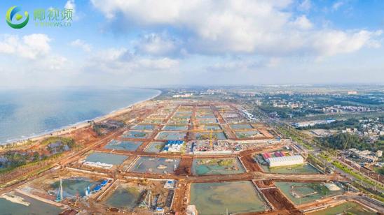 椰视频|瞰亿博体育app下载:海口江东新区起步区路网建设加速度 有望提前七个月完工
