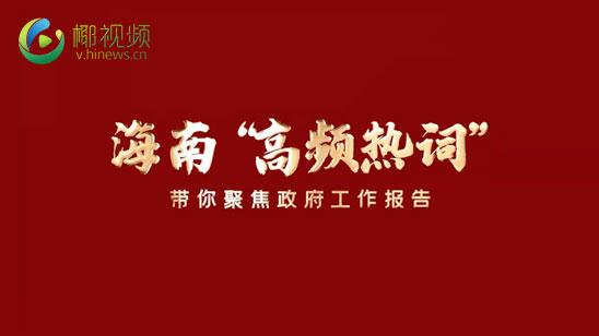 视频策划丨这些高频热词 带你get海南省政府工作报告重点