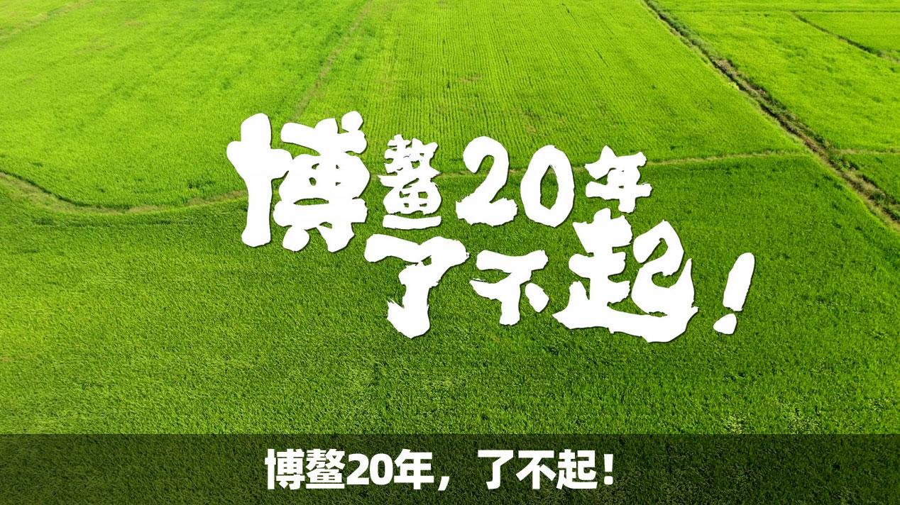 博鳌20年,了不起!