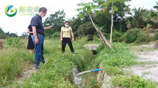 椰视频   5口田头井缓解琼海千亩农作物灌溉用水紧张