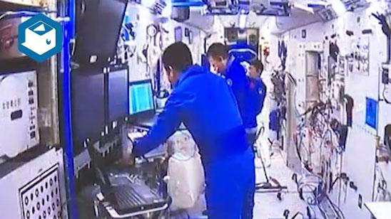 视频 | 期待凯旋!80秒回顾3名航天员出差生活