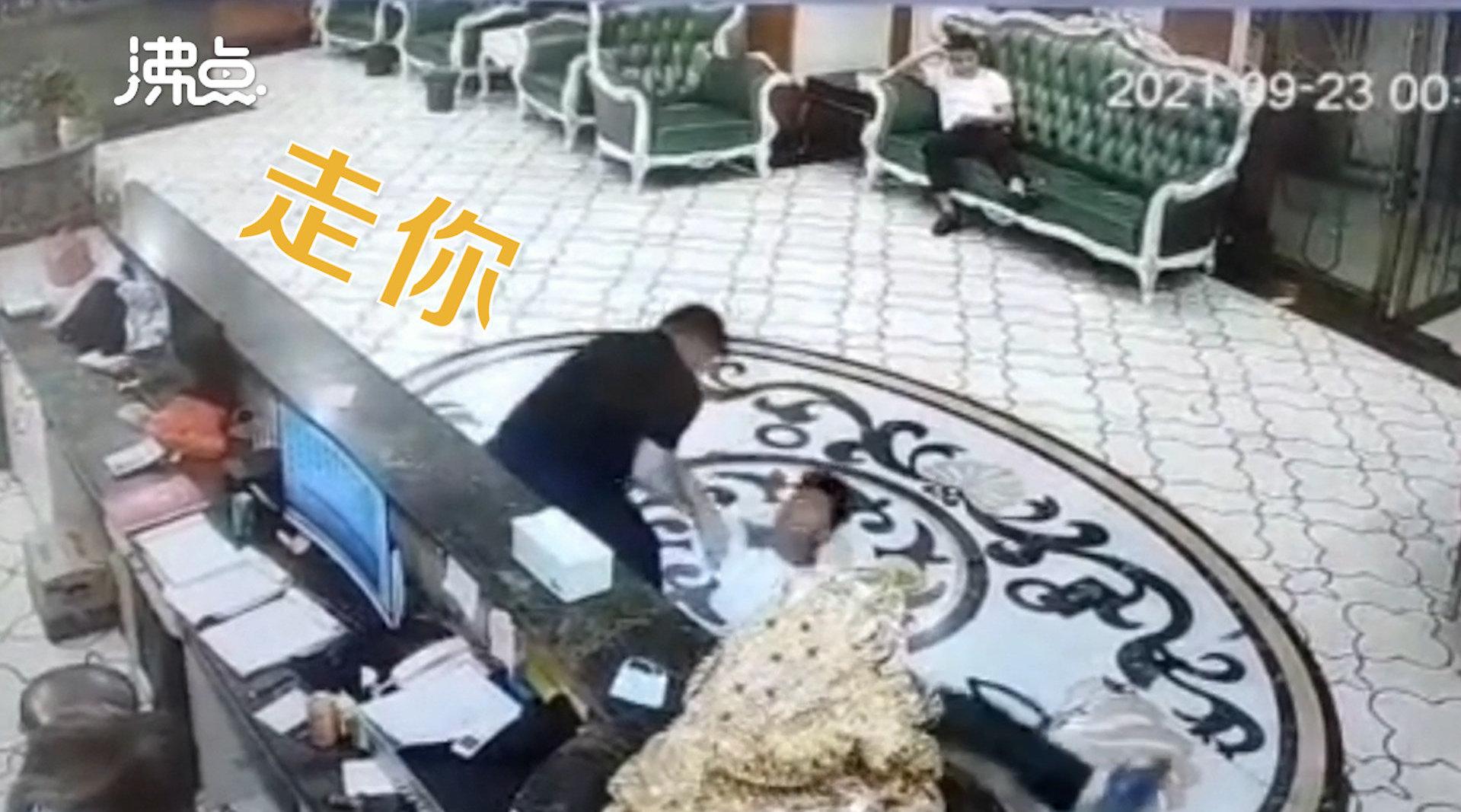 视频 | 大型社死!男子被搂脖认错人将其过肩摔:错认成特别熟的朋友