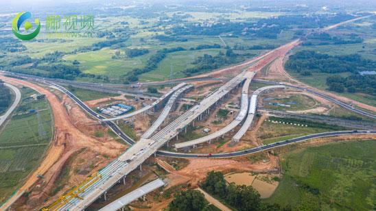瞰海南 | 航拍国道G360文临公路 项目建设加速推进